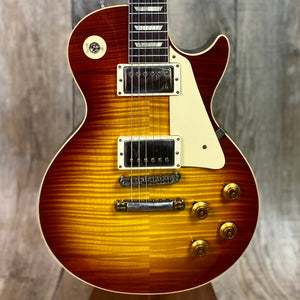 Gibson Custom 1959 Les Paul Standard Reissue VOS Washed Cherry Sunburst w/case