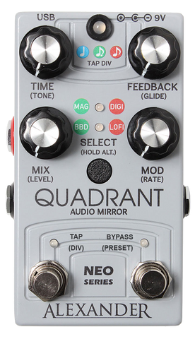 Alexander Quadrant Audio Mirror
