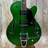 Reverend PA1 RB Pete Anderson Signature RetroBlast Satin Metallic Emerald w/case