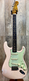 Fender Custom Shop 1960 Relic Strat Roasted Neck RW  Faded Shell Pink w/case