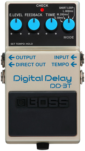 Boss DD-3T Digital Delay - Tap Tempo