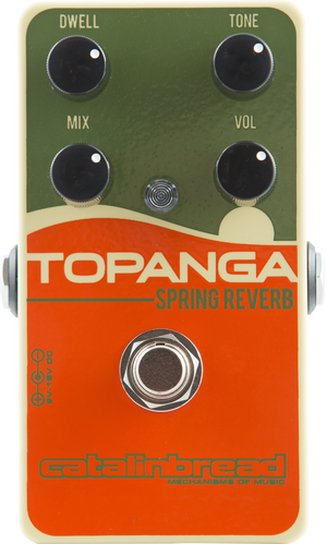 Catalinbread Topanga Spring Reverb Effect