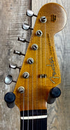 Fender Custom Shop 1960 Relic Strat Roasted Neck RW Faded  Firemist Goldw/case