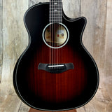 Taylor Builder's Edition 324ce V-Class Bracing Shaded Edgeburst w/case