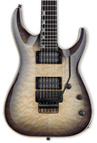 ESP E-II Horizon FR Black Natural Burst w/case
