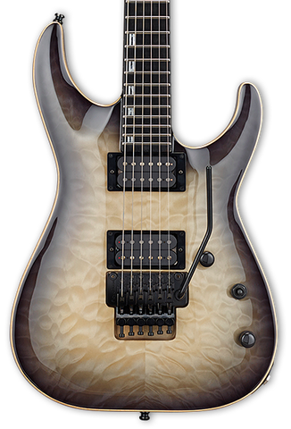 Demo ESP E-II Horizon FR Black Natural Burst w/case