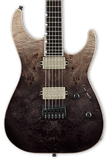 ESP E-II M-II NT Black Natural Fade w/case