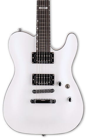 ESP LTD Eclipse '87 NT Pearl White w/bag