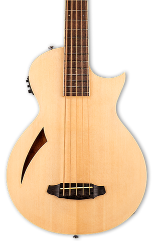 ESP LTD TL-5 5-String Acoustic/Electric Bass Natural