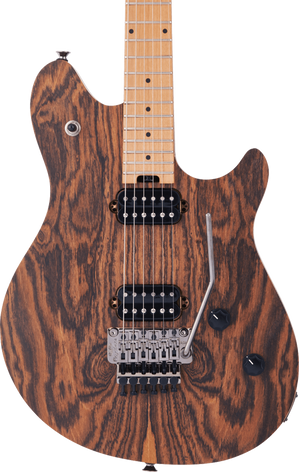 EVH Wolfgang Standard Exotic Bocote Baked Maple Fingerboard Natural