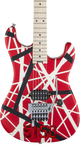 EVH Striped Series 5150 Red/Black/White