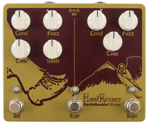 EarthQuaker Devices Hoof Reaper Dual Fuzz V2