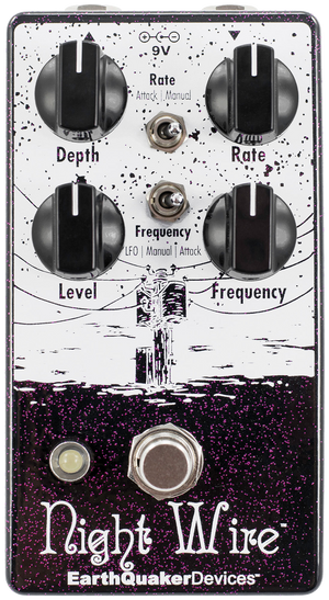 EarthQuaker Devices Night Wire Wide Range Harmonic Tremolo V2