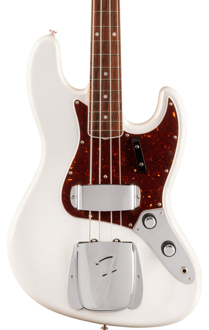 Fender 60th Anniversary Jazz Bass Rosewood Fingerboard Arctic Pearl w/case