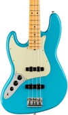 Fender American Professional II Jazz Bass Left-Hand MP Miami Blue w/case