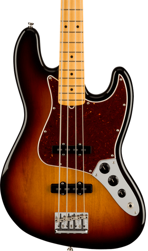 Fender American Professional II Jazz Bass MP 3-Color Sunburst w/case
