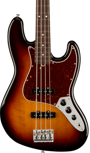 Fender American Professional II Jazz Bass RW 3-Color Sunburst w/case
