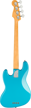 Back of Fender Electric Jazz Bass in Miami Blue Tone Shop Guitars Dallas Fort Worth