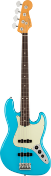 Fender Electric Jazz Bass in Miami Blue Tone Shop Guitars Dallas Fort Worth