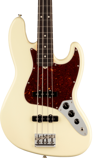 Fender American Professional II Jazz Bass RW Olympic White w/case