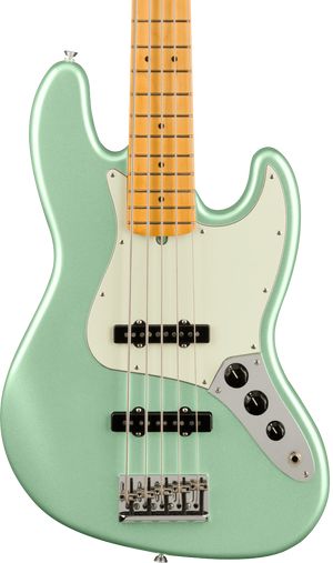 Fender American Professional II Jazz Bass V MP Mystic Surf Green w/case
