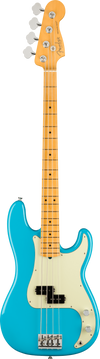 Fender Precision Bass MP in Miami Blue Tone Shop Guitars Dallas Texas
