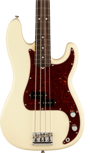 Fender American Professional II Precision Bass RW Olympic White w/case