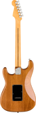 Back of Fender Stratocaster electric guitar in Roasted Pine Tone Shop Guitars Dallas TX