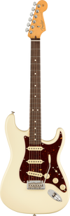 Fender Stratocaster electric guitar in Olympic White Tone Shop Guitars Dallas Texas