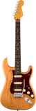 Fender Stratocaster electric guitar in Aged Natural wood Tone Shop Guitars Dallas TX