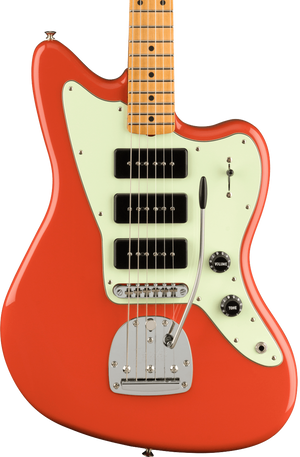 Fender Noventa Jazzmaster MP Fiesta Red w/bag