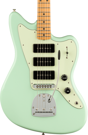 Fender Noventa Jazzmaster MP Surf Green w/bag