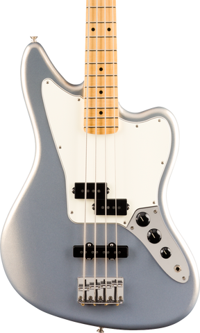 Fender Player Jaguar Bass Maple Fingerboard Silver