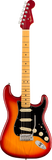 Fender Ultra Luxe Stratocaster MP Plasma Red Burst w/case