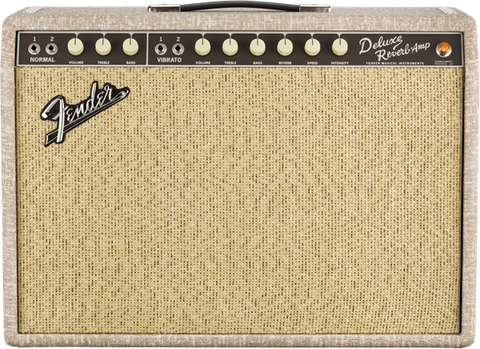 Fender '65 Deluxe Reverb Fawn Greenback 120V