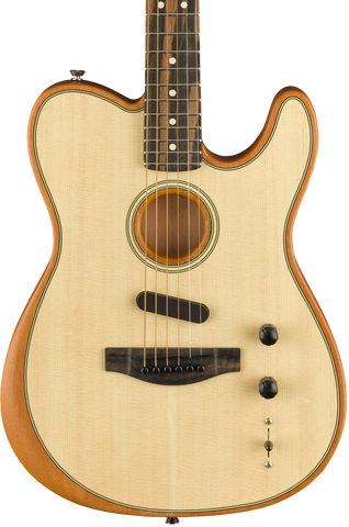 Fender American Acoustasonic Telecaster Natural w/bag