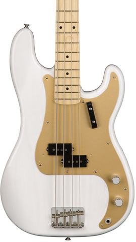 Fender American Original '50s Precision Bass Maple White Blonde w/case