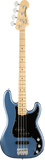 Fender American Performer Precision Bass MP Satin Lake Placid Blue w/bag