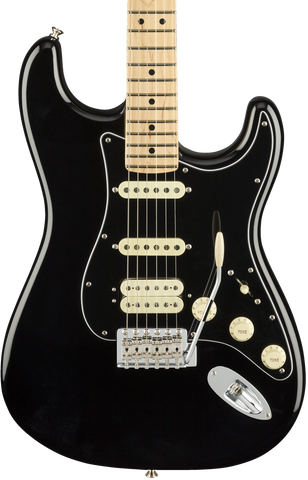 Fender American Performer Stratocaster HSS MP Black w/bag