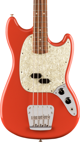 Fender Vintera 60s Mustang Bass PF Fiesta Red w/bag