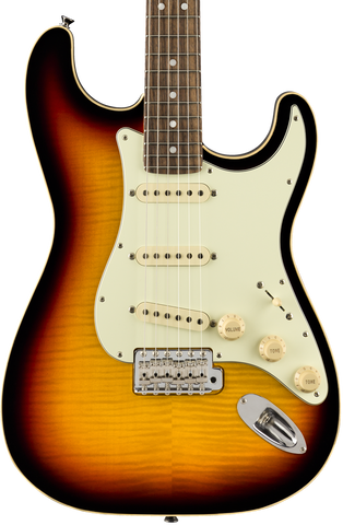 Fender Limited Edition Aerodyne Classic Stratocaster Flame Maple Top RW 3-Color Sunburst w/bag