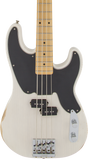 Fender Mike Dirnt Road Worn Precision Bass Maple White Blonde w/case