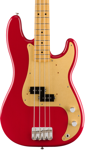 Fender Vintera 50s Precision MP Bass Dakota Red w/bag