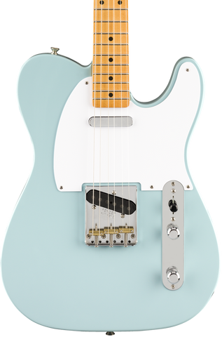 Fender Vintera 50s Telecaster MP Sonic Blue w/bag