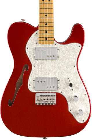 Fender Vintera 70s Telecaster Thinline MP Candy Apple Red w/bag