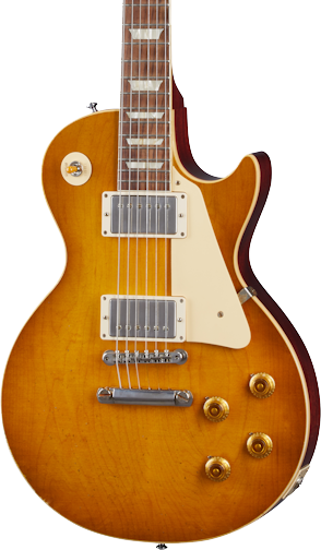 Gibson Custom Shop 1958 Les Paul Standard Reissue Murphy Lab Light Aged Lemon Burst w/case