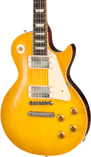 Gibson Custom Shop 1958 Les Paul Standard Reissue VOS Lemon Burst w/case