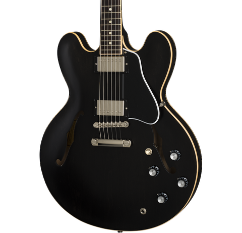 Gibson ES-335 Satin Trans Black w/case