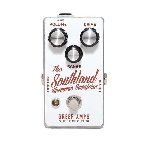 Greer Amps Southland Harmonic Overdrive