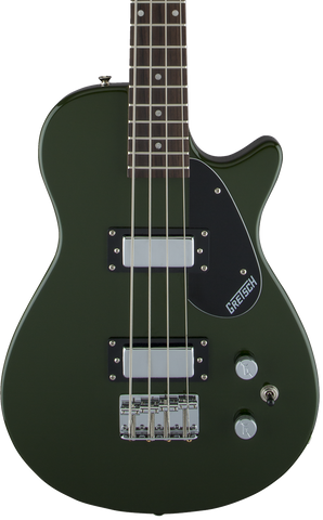 "Gretsch G2220 Electromatic Junior Jet Bass II Short-Scale RW 30.3"" Scale Torino Green"